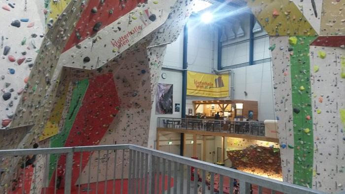 upCafè Kletterhalle Wien