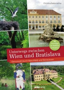 """Cover """"Unterwegs zwischen Wien und Bratislava"""""""