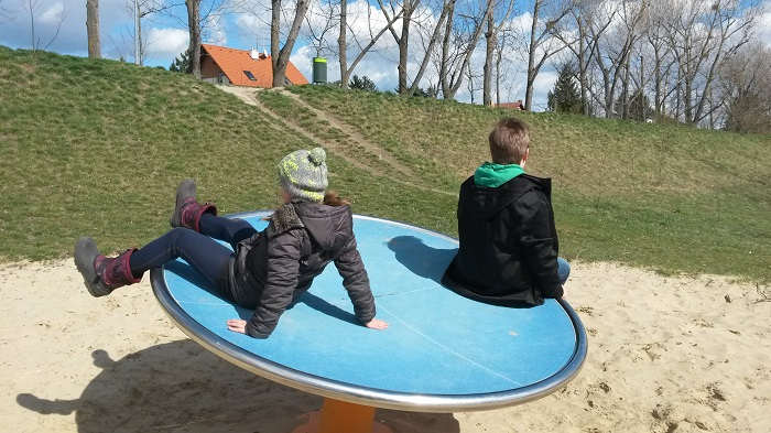 Spielplatz am Teich Hirschstetten