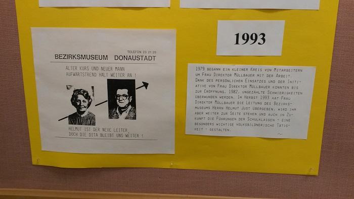 Bezirksmuseum Donaustadt - 30 Jahre
