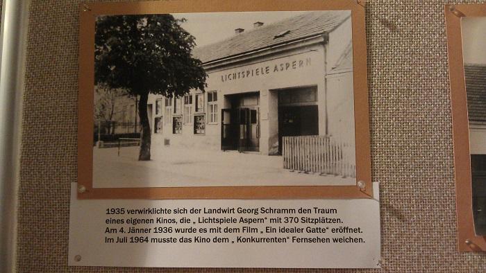 Lichtspiele Aspern im Bezirksmuseum Donaustadt