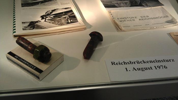 Bezirksmuseum Donaustadt - Reichsbrückeneinsturz