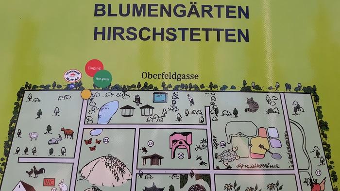 Blumengärten Hirschstetten - Zoo - Plan