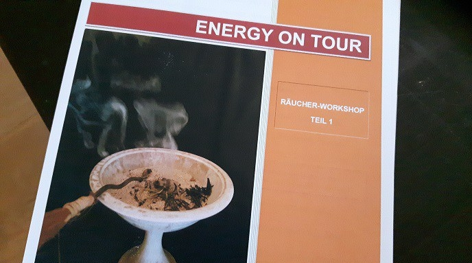 Unterlagen zum Räucherworkshop von Energy on Tour