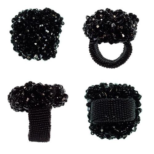 Eva - Ring schwarz 500 px